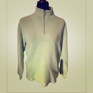 Tommy Bahama Cotton XS 1/4 Zip MARLIN Pullover